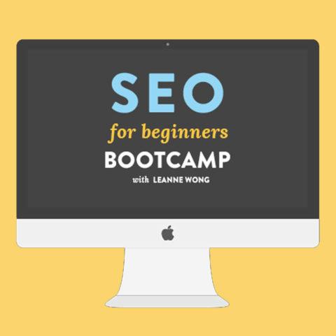 SEO for Beginners Bootcamp - Business tools & Freebies on Maroon Oak