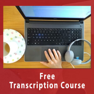 Free Transcription course- Business Tools & freebies on Maroon Oak